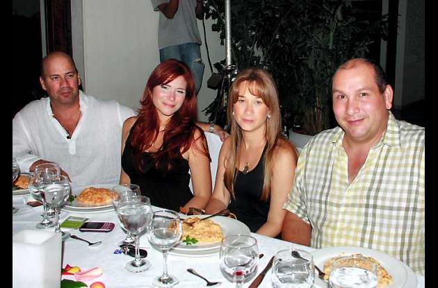 Cena en el Club Cartagena