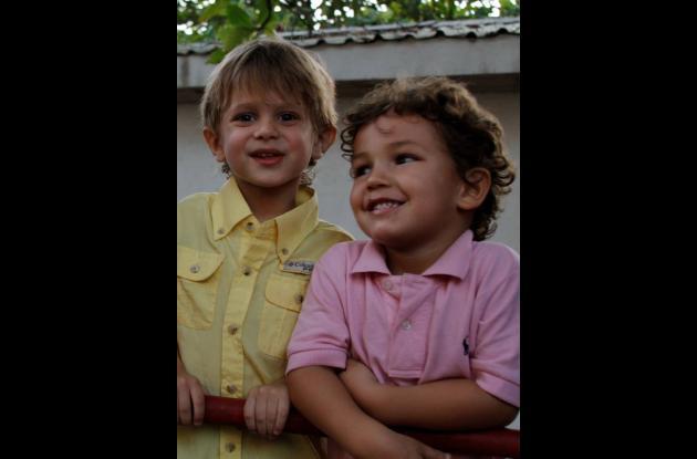 Cumpleaños de Samuel y David Mogollón