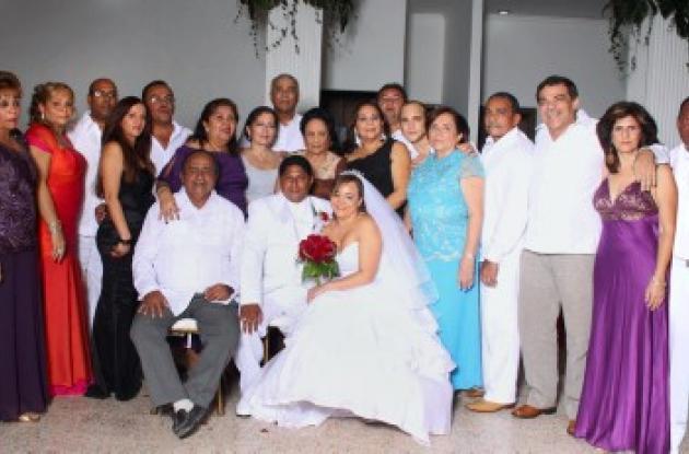 Matrimonio Ana Lucy Oñate y  Eduardo Pombo