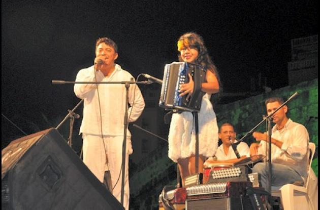 Javier Vega  y María Alejandra Villar.