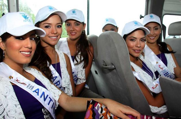 Aguacero impidió que las candidatas zarparan a Tierrabomba
