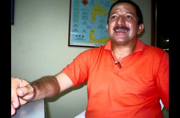 Rodrigo Pérez Manzano, director del Establecimiento Penitenciario de Mediana Seguridad de Cartagena.