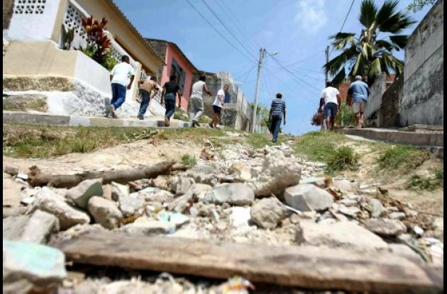 Calle 69B barrio La Victoria
