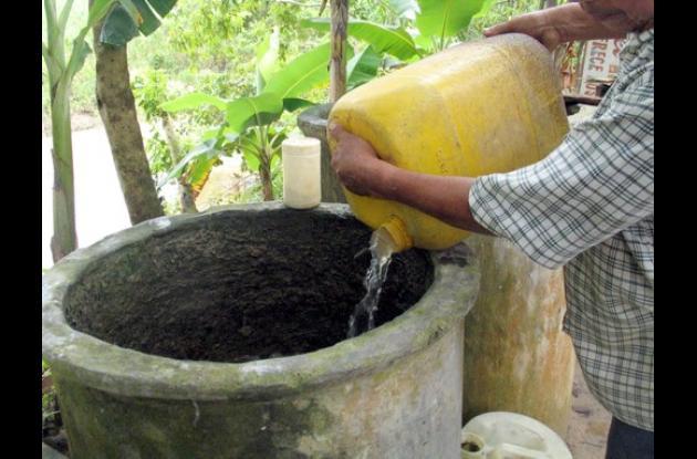dengue, almacenamiento de agua, mosquito transmisor, bolivar