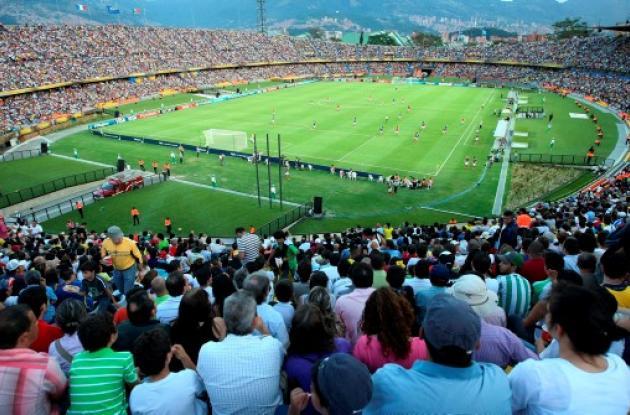 Estadio Atanasio Girardot, de Medellín.