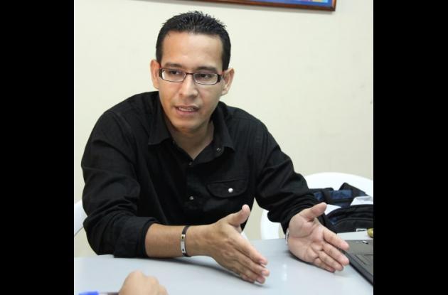 Adelfo Doria Franco, gerente de Espacio Público.