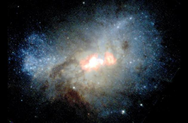 Galaxia Henize 2-10.