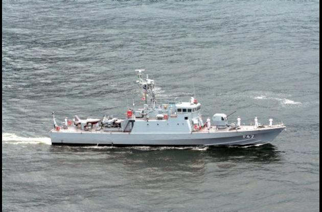 Barco Armada brasileña Grajaú