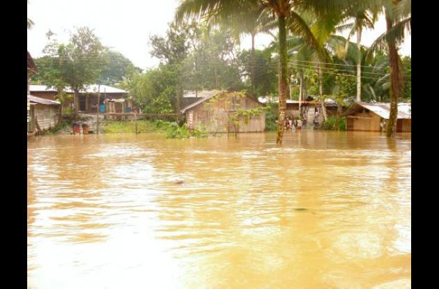 Inundaciones en Barbacoas, Nariño.