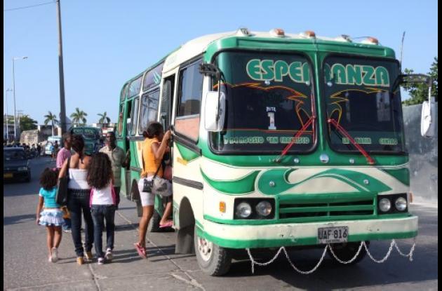 bus aumentó tarifa