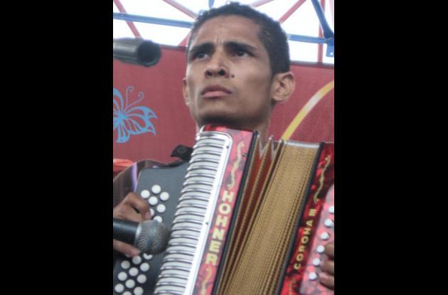 Omar Hernández, acordeonero profesional de Valledupar.