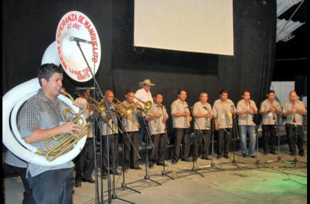Mejor Banda Tradicional Pelayera: Asociación Nueva Esperanza de Manguelito.