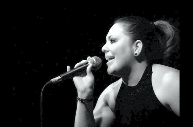 Aglaé Caraballo, cantante cordobesa.