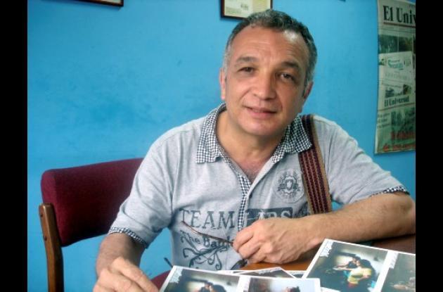 Cristo Hoyos, artista cordobés.