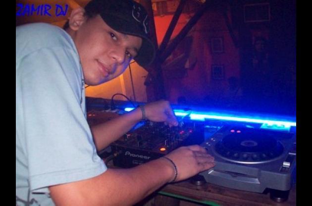 Zamir Agámez Correa, deejay monteriano.