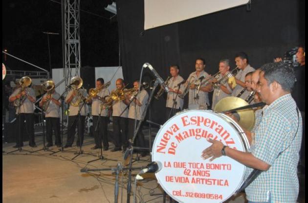 Banda Nueva Esperanza de Manguelito ganadora del Festival Nacional del Porro.