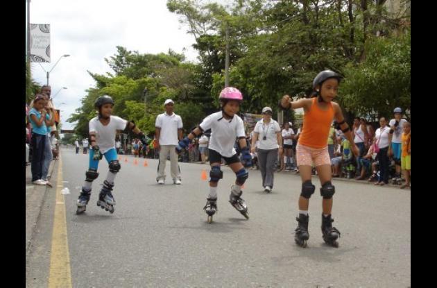 Con éxito se clausuró ayer el Festival de Patinaje de la Feria del Deporte de Montería.