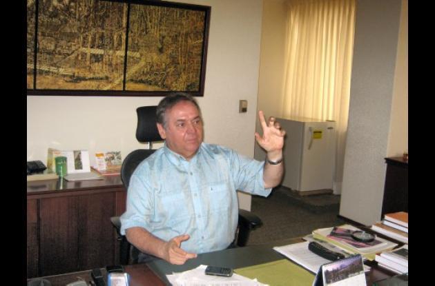 Félix Manzur Jattin, Director Ejecutivo de la Cámara de Comercio de la ciudad de Montería.