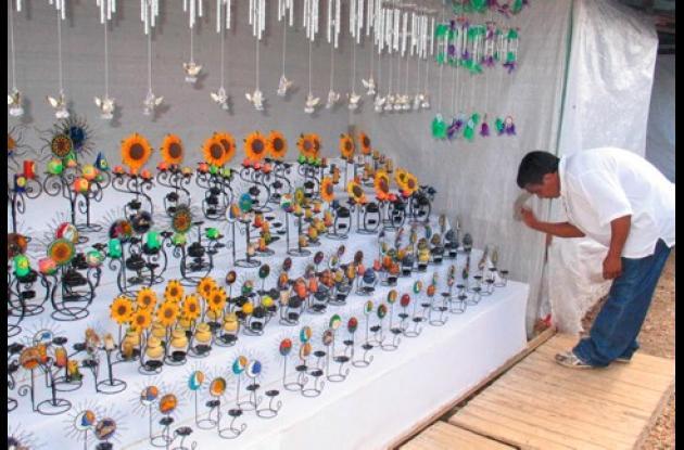 Llegaron los primeros artesanos que participarán XXVI Feria Nacional Artesanal.