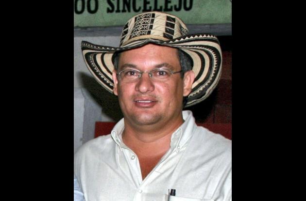 Eugenio Buelvas Mendoza, presentador oficial de la XXIII Feria Equina Grado A de Montería.