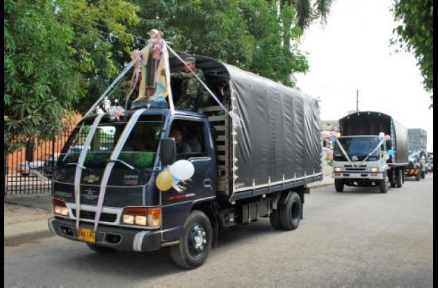 Los conductores participaron de diferentes caravanas.