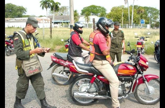 La Policía empezó el empadronamiento de motocicletas en Córdoba.