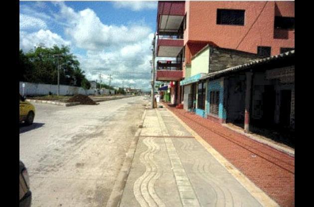 En La Granja el andén no tiene posibilidad de hacerle un tratamiento integral de renovación urbana.