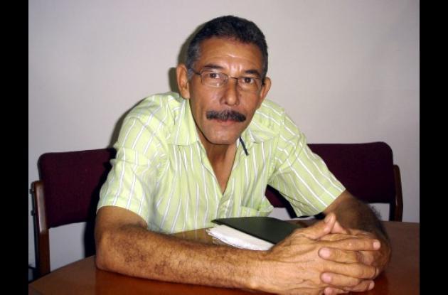 Alvaro Vélez, vicepresidente del sindicato de trabajadores de la Universidad.