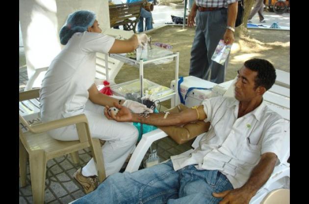 La campaña busca incentivar la donación de sangre.