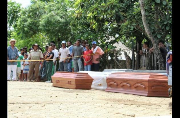 Los crímenes perpetrados por grupos armados siguen vigentes en Córdoba.