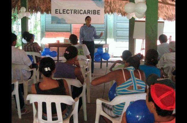 Una campaña de planificación adelantó Electricaribe en zona rural de Planeta.