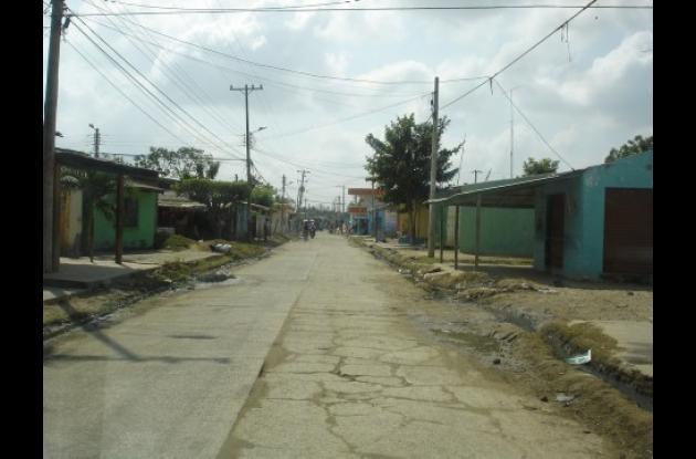 Con el anillo vial del sur se pavimentará la calle principal del barrio Alfonso López.