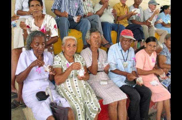 El programa que provee de alimentos a los ancianos tiene una cobertura del 90 por ciento.