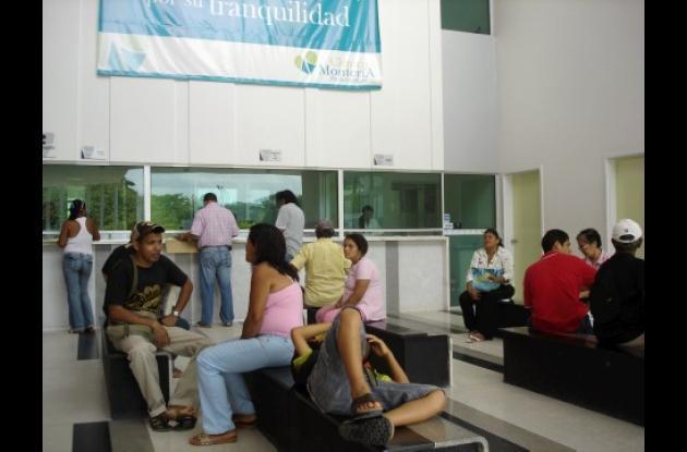 La clínica Montería fue embargada en la mañana de ayer por millonarias deudas.