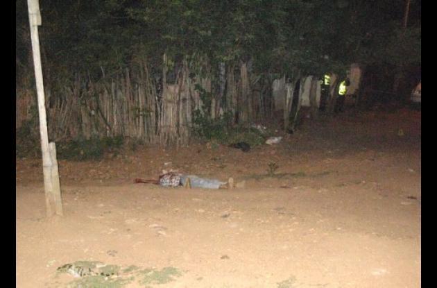 En Lorica se registraron dos asesinatos.
