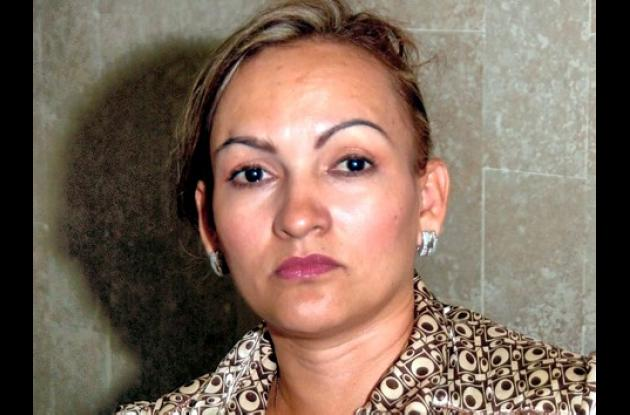 Blanca Nelly Márquez, diputada capturada.