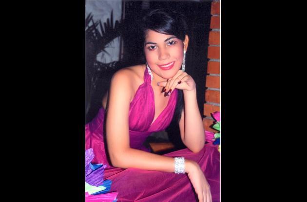 Yesly Paola Aldana Henríquez el día de sus 15 años.