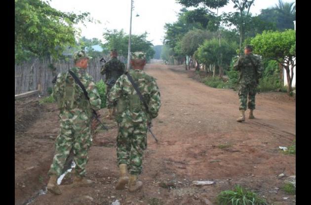 Ante las seguidas amenazas mediante panfletos fue necesario trasladar tropas de la Infantería de Marina hacia Purísima.