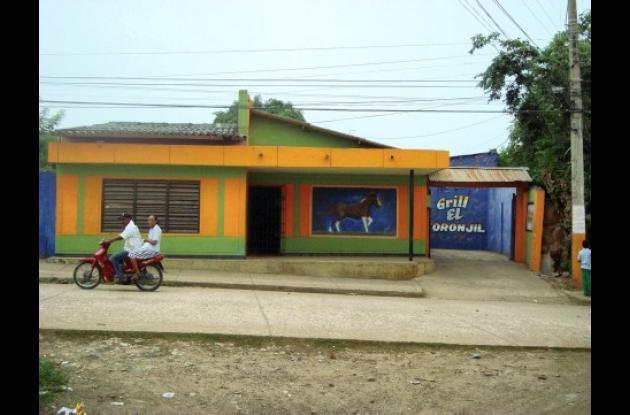 En este establecimiento se encontraban los dos hermanos cuando  fueron asesinados.