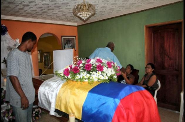 Los restos mortales de  Wilmer Pérez Padilla, ex alcalde de San Antero.