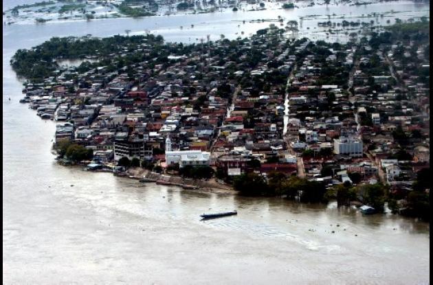 Inundaciones Banco Magdalena