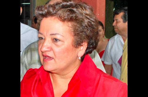 Marta Sánez, gobernadora del departamento de Códoba.
