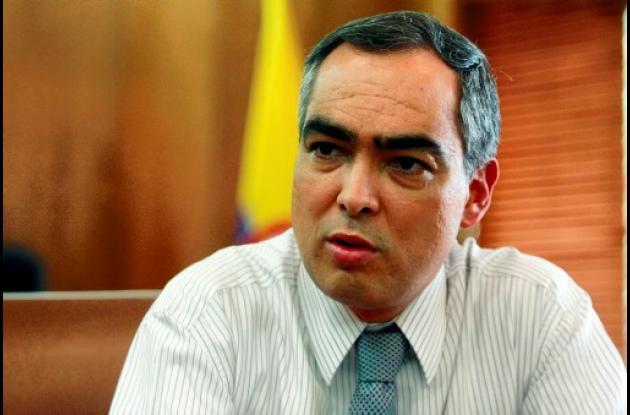 Rodrigo Rivera Salazar, ministro de Defensa de Colombia.