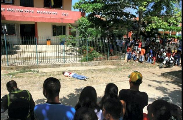 En El Nazareno fue asesinado ayer en la mañana Frank Ruiz Ripoll, de 31 años y natural de Santa Marta.