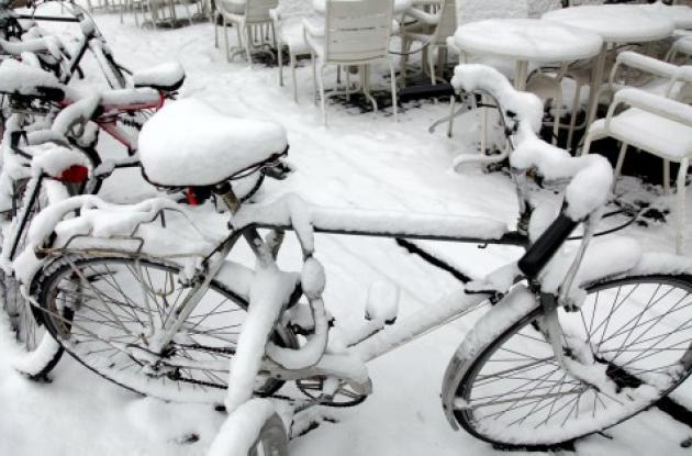 Nieve en Europa