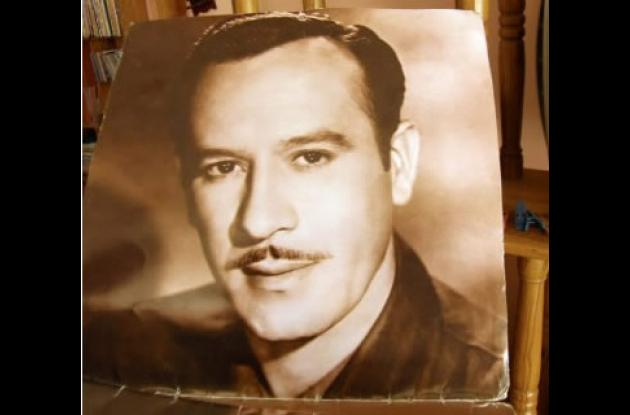 Uno de los retratos de Pedro Infante