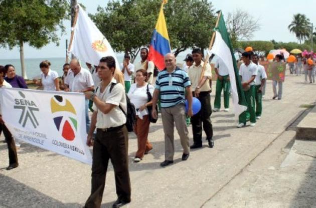 Con el propósito de hacer sentir la presencia del Sena en Tolú, en esta localidad fueron inaugurados los Juegos Intercursos de dicha institución.