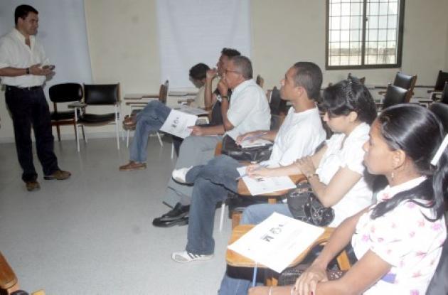 Henry Grajales, con doctorado en reproducción de la Universidad Nacional, dirigió gran parte del intercambio de ideas durante la presentación del diagnóstico del Digetec en Sucre, efectuado en el auditorio del ICA.