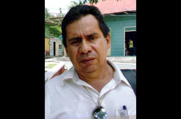 Luis Abelardo Garrido, rector de la Institución Educativa Técnico Agropecuaria de Flor del Monte.