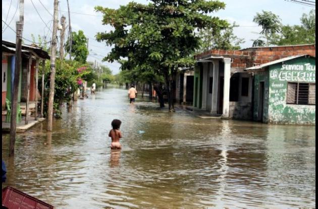 El alza en los niveles de los ríos mantiene en riesgo a más de 20 poblaciones del San Jorge y La Mojana, en Sucre.